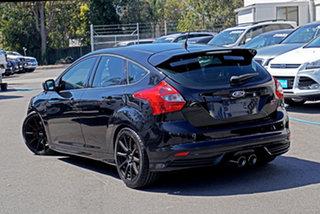 2014 Ford Focus LW MkII ST Black 6 Speed Manual Hatchback.