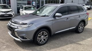 2016 Mitsubishi Outlander ZK MY16 LS 2WD Grey 6 Speed Constant Variable Wagon