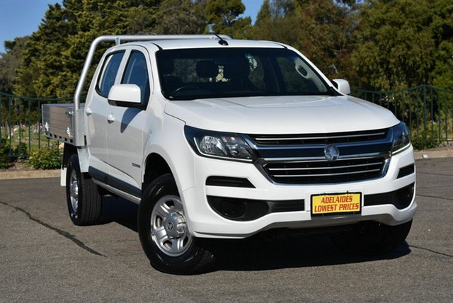 Used Holden Colorado RG MY18 LS Crew Cab 4x2 Strathalbyn, 2017 Holden Colorado RG MY18 LS Crew Cab 4x2 White 6 Speed Sports Automatic Cab Chassis