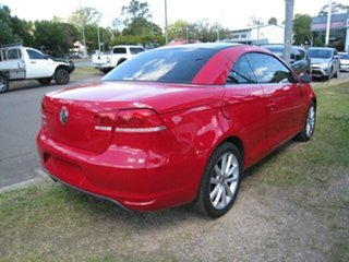 2011 Volkswagen EOS 1F MY12 103 TDI Red 6 Speed Direct Shift Convertible