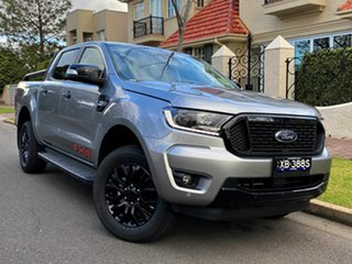 2021 Ford Ranger PX MkIII 2021.75MY FX4 Aluminium Silver 6 Speed Sports Automatic Double Cab Pick Up.