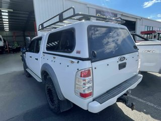 2011 Ford Ranger PK XL (4x4) White 5 Speed Manual Dual Cab Chassis