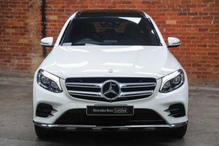2015 Mercedes-Benz GLC-Class X253 GLC250 9G-Tronic 4MATIC Polar White 9 Speed Sports Automatic Wagon