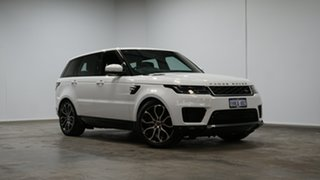 2018 Land Rover Range Rover Sport L494 18MY HSE White 8 Speed Sports Automatic Wagon.