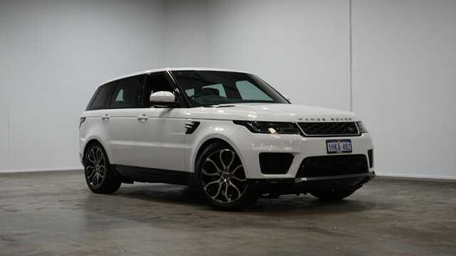 Used Land Rover Range Rover Sport L494 18MY HSE Welshpool, 2018 Land Rover Range Rover Sport L494 18MY HSE White 8 Speed Sports Automatic Wagon