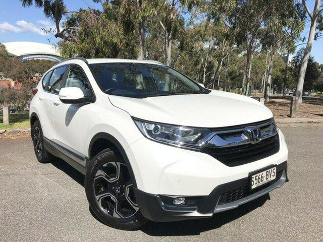 Used Honda CR-V RW MY18 VTi-S 4WD Adelaide, 2018 Honda CR-V RW MY18 VTi-S 4WD White 1 Speed Constant Variable Wagon