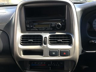 2006 Nissan Navara D22 S2 ST-R White 5 Speed Manual Utility