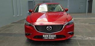 2017 Mazda 6 6C MY17 (gl) Touring Red 6 Speed Automatic Sedan.