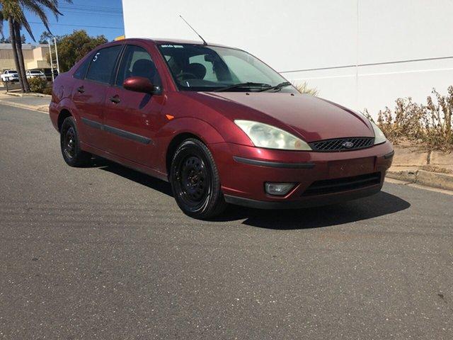 Used Ford Focus LR MY2003 CL Blair Athol, 2003 Ford Focus LR MY2003 CL Red 5 Speed Manual Sedan