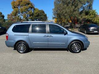 2012 Kia Grand Carnival VQ MY13 Platinum Blue 6 Speed Sports Automatic Wagon