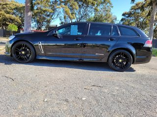 2014 Holden Commodore VF MY14 SS Sportwagon Storm Black 6 Speed Sports Automatic Wagon