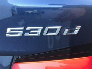 2020 BMW 5 Series G30 LCI 530d Steptronic M Sport Blue 8 Speed Sports Automatic Sedan