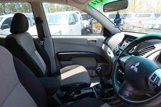 2013 Mitsubishi Triton MN MY13 GL-R Double Cab Silver 5 Speed Manual Utility