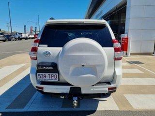 2013 Toyota Landcruiser Prado KDJ150R MY14 VX (4x4) Crystal Pearl 5 Speed Sequential Auto Wagon.