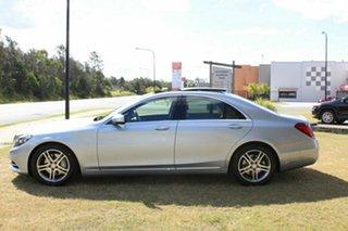 2014 Mercedes-Benz S-Class V222 S350 BlueTEC L 7G-Tronic + Silver 7 Speed Sports Automatic Sedan