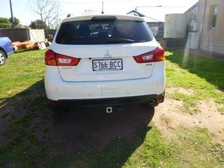 2014 Mitsubishi ASX XB White Sports Automatic Wagon