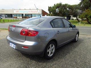 2005 Mazda 3 BK Maxx Grey 5 Speed Manual Sedan.