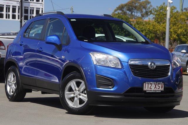 Used Holden Trax TJ MY16 LS Aspley, 2016 Holden Trax TJ MY16 LS Blue 6 Speed Automatic Wagon