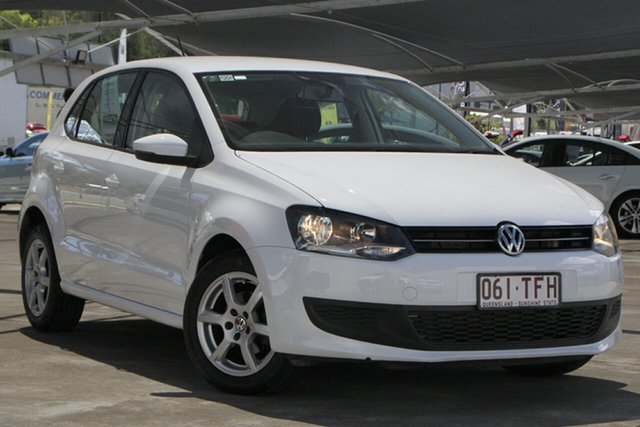 Used Volkswagen Polo 6R MY13.5 77TSI DSG Comfortline Bundamba, 2013 Volkswagen Polo 6R MY13.5 77TSI DSG Comfortline Candy White 7 Speed
