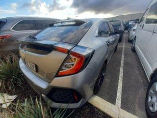 2017 Honda Civic FK MY15 VTi-S Silver 5 Speed Automatic Hatchback.