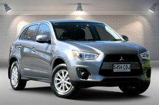 2013 Mitsubishi ASX XB MY13 2WD Grey 6 Speed Constant Variable Wagon.