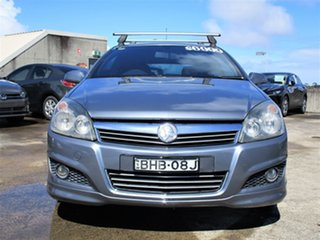 2007 Holden Astra AH MY07 SRi Silver 6 Speed Manual Coupe