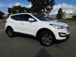 2013 Hyundai Santa Fe DM Active (4x4) White 6 Speed Automatic Wagon.