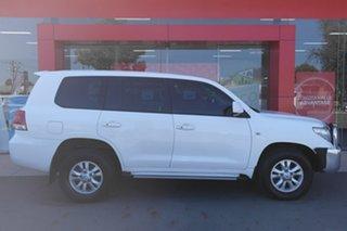 2011 Toyota Landcruiser VDJ200R MY10 GXL White 6 Speed Sports Automatic Wagon.