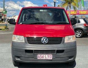 2005 Volkswagen Transporter T5 Red 6 Speed Sports Automatic Van