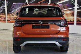 2021 Volkswagen T-Cross C1 MY21 85TSI DSG FWD Life Orange 7 Speed Sports Automatic Dual Clutch Wagon.
