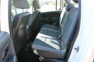 2012 Volkswagen Amarok 2H MY12 TDI400 4x2 White 6 Speed Manual Cab Chassis