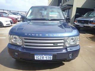2007 Land Rover Range Rover MY07 Vogue V8 Izmir Blue 6 Speed Auto Sequential Wagon.
