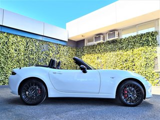 2021 Mazda MX-5 ND GT SKYACTIV-MT RS White 6 Speed Manual Roadster.