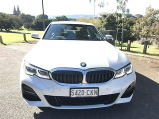 2020 BMW 3 Series G20 320i Steptronic M Sport White 8 Speed Sports Automatic Sedan.