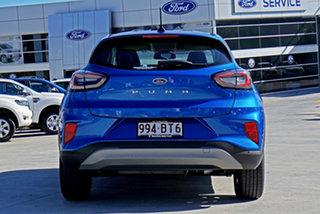 2021 Ford Puma JK 2021.25MY Puma Blue 7 Speed Sports Automatic Dual Clutch Wagon