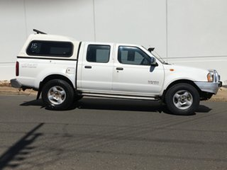 2006 Nissan Navara D22 S2 ST-R White 5 Speed Manual Utility.