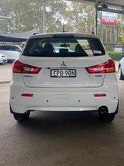 2012 Mitsubishi ASX XA MY12 2WD White 5 Speed Manual Wagon.