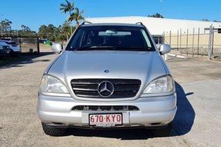 2000 Mercedes-Benz M-Class W163 MY2000 ML320 Luxury Silver 5 Speed Sports Automatic Wagon
