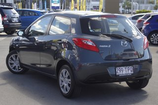 2011 Mazda 2 DE10Y1 MY10 Neo Grey 5 Speed Manual Hatchback.