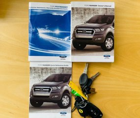 2016 Ford Ranger PX MkII XL Hi-Rider Blue 6 Speed Sports Automatic Utility