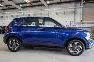 2021 Hyundai Venue QX.V3 MY21 Active Blue 6 Speed Automatic Wagon.