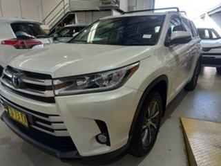2018 Toyota Kluger GSU50R GXL (4x2) Crystal Pearl 8 Speed Automatic Wagon.