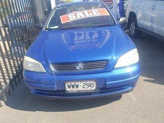 2004 Holden Astra AH CD Blue 5 Speed Manual Hatchback.