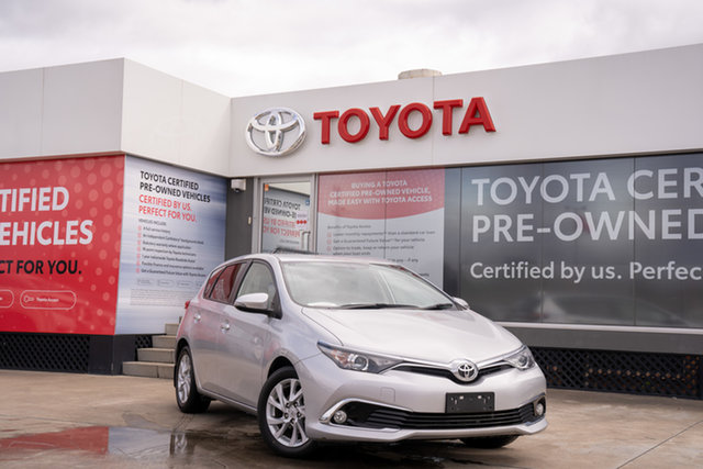 Pre-Owned Toyota Corolla ZRE182R Ascent Sport S-CVT Guildford, 2018 Toyota Corolla ZRE182R Ascent Sport S-CVT Silver Pearl 7 Speed Constant Variable Hatchback
