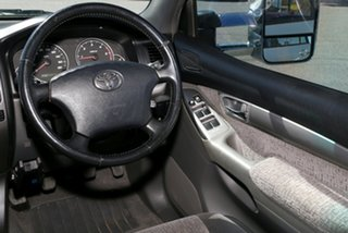 2004 Toyota Landcruiser Prado KZJ120R GXL Silver 5 Speed Manual Wagon
