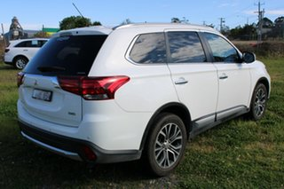 2016 Mitsubishi Outlander ZK MY16 Exceed 4WD White 6 Speed Sports Automatic Wagon