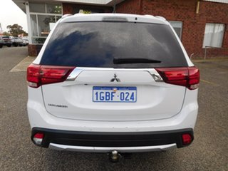 2016 Mitsubishi Outlander ZK MY16 XLS 4WD White 6 Speed Constant Variable Wagon