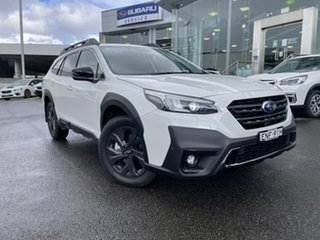 2020 Subaru Outback B7A MY21 AWD Sport CVT Crystal White 8 Speed Constant Variable Wagon.