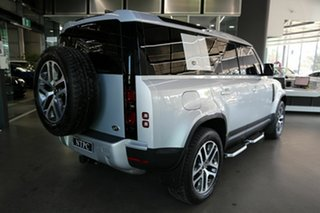 2021 Land Rover Defender L663 21MY 110 D300 AWD SE Silver 8 Speed Sports Automatic Wagon