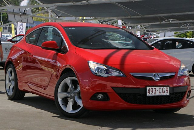 Used Holden Astra PJ MY15.5 GTC Sport Bundamba, 2015 Holden Astra PJ MY15.5 GTC Sport Red 6 Speed Automatic Hatchback
